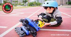 Πότε μπορεί το παιδί μου να ξεκινήσει Rollers;