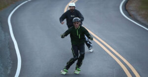 Read more about the article Προπονηθείτε για το ski κάνοντας inline skate !